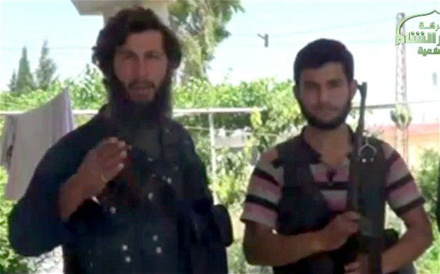 Mohammed Fares, left, who was mistakenly decapitated by Islamic State of Iraq and al-Sham militants