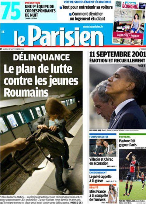 On s'inquiète aussi à L'Express, et c'est bien évidemment, au vu de la gravité de la situation, l'inénarrable Christophe Barbier qui monte au créneau dans l'un de ses (désormais cultes) éditoriaux vidéos. Et le lecteur/spectateur de découvrir que Barbier et son écharpe rouge prennent très au sérieux la question du racisme :  « À cause de la crise en grande partie se noue de l'intolérance, il y a, d'un seul coup, en France, un prurit, une fièvre… C'est forcément l'autre qui est responsable des difficultés, des souffrances, et l'autre c'est celui qui est différent, et voilà comment on passe à une réflexion raciste ».  Comme celle-ci ?