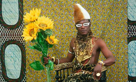 'I am all the African chiefs who have sold their continent to the white men' … Samuel Fosso's self-portrait as an African chief