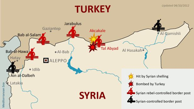 NATO Wages Desperate Last Battle In Northern Syria NEO LeBlog - Where is syria and turkey
