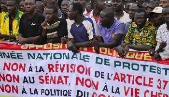BURKINA-FASO : l'opposition dit NON à la modification de la constitution et au 3e mandat de Blaise Compaoré (Congo-Liberty)