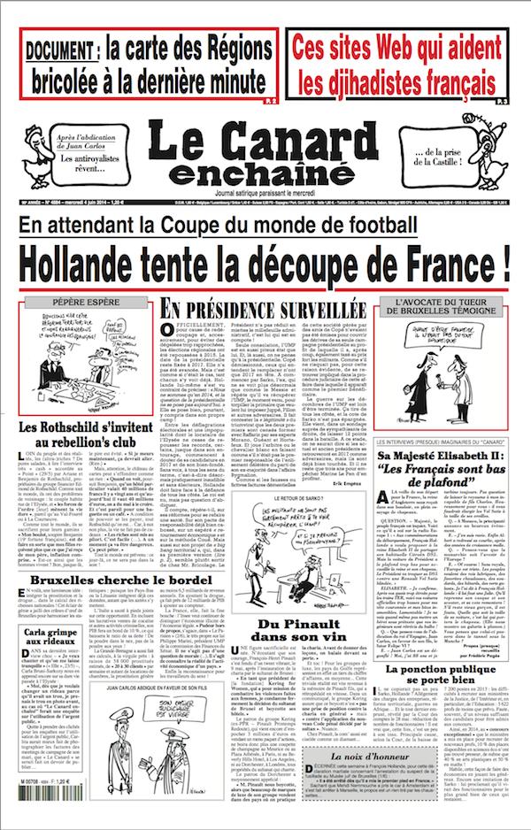 L'aide française au développement ... du pillage (Le Canard Enchaîné)