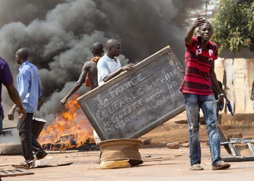 Des forces de maintien de la paix sous commandement français abattent des manifestants en Centrafrique (WSWS)