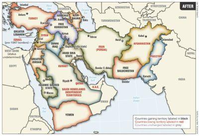Les Etats-Unis envisagent de morceller l'Irak (Gulf Daily News)