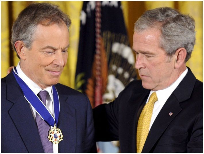 Irak : Faut-il juger les criminels de guerre Blair et Bush devant la CPI ? Qu'en est-il de Cameron, Sarkozy et Obama en Libye ? / Iraq: Should The War Criminals Blair And Bush Be Tried At The ICC ? What About Cameron, Sarkozy And Obama In Libya ?