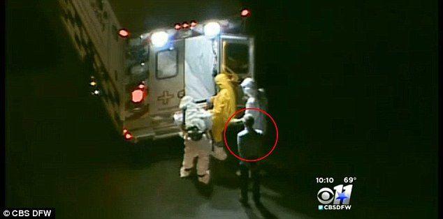 Le même homme en route vers Atlanta dans la même ambulance que la victime contaminée par Ebola.