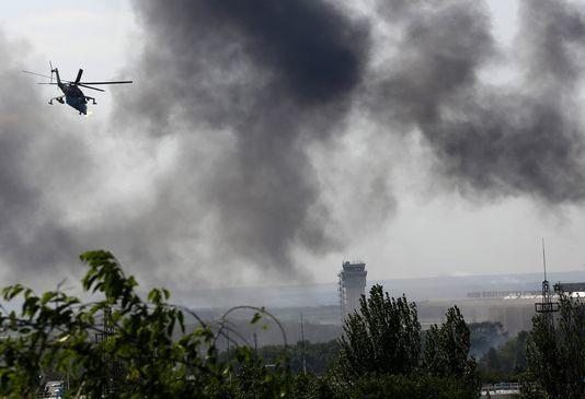 DONBASS. Les nazis de Kiev, soutenus par l'Occident, sont entrain de bombarder Donetsk (AJ)