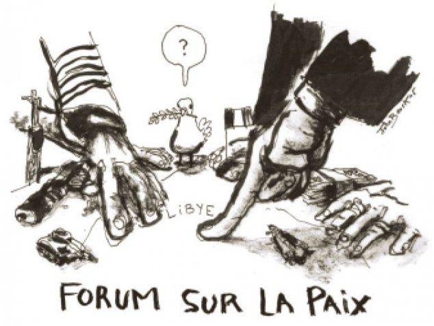La France en Libye. Chronique d'une guerre annoncée (BdA)