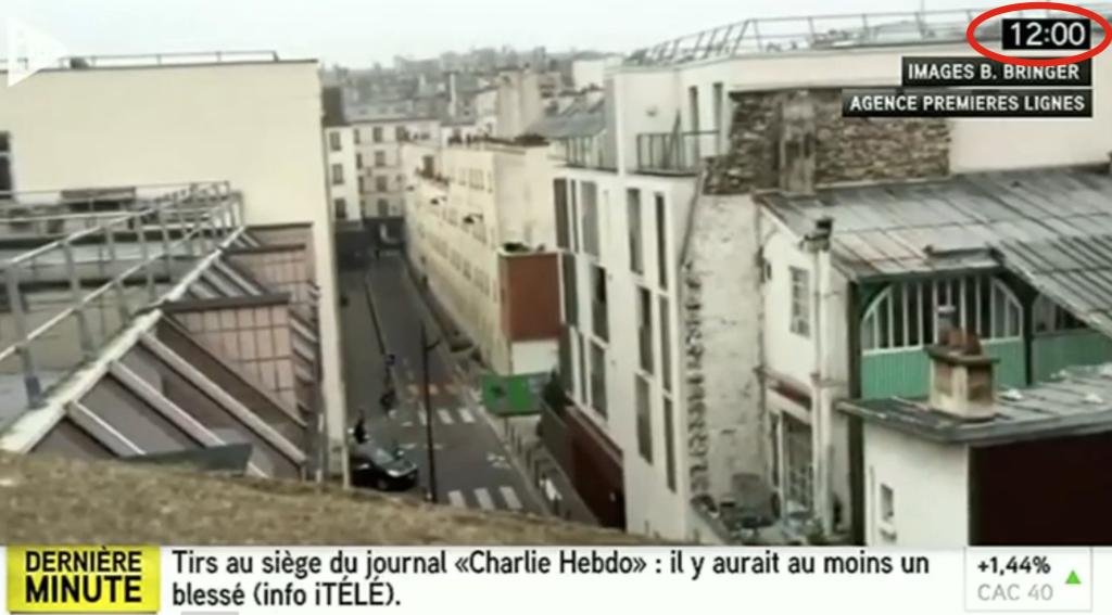Attentat à Charlie Hebdo : la vidéo « amateur » était falsifiée (Panamza)