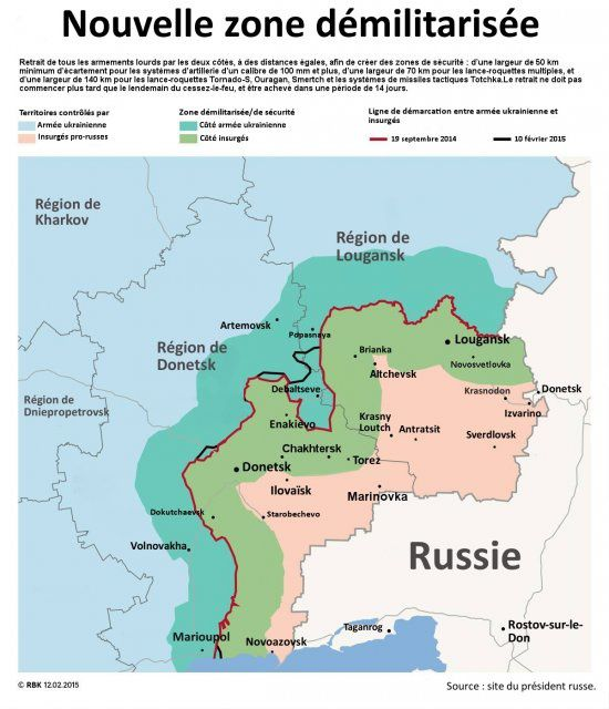 Ukraine : les treize travaux des accords de Minsk (Le Courrier de Russie)
