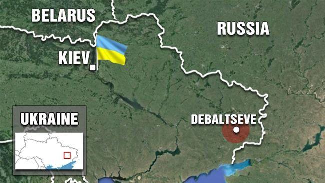 Les forces pro-russes déclarent avoir repoussé l'armée ukrainienne en dehors de Debaltseve (Press TV)