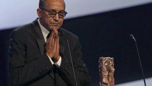"""Abderrahmane Sissako, réalisateur de """"Timbuktu"""" à la cérémonie des César"""