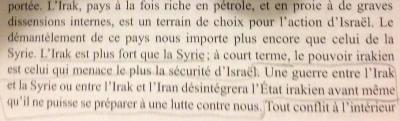 La prophétie d'Oded Yinon : L'Occident détruit le Moyen-Orient au profit d'Israël (Counterpunch)