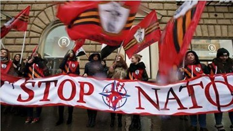 Campagne pour que l'Italie sorte de l'Otan (Arrêt sur info)