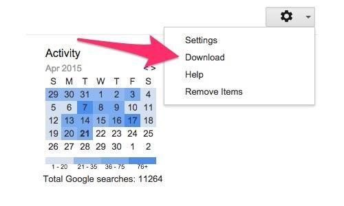Voici comment télécharger et supprimer ce que Google Research sait sur vous (Yahoo)
