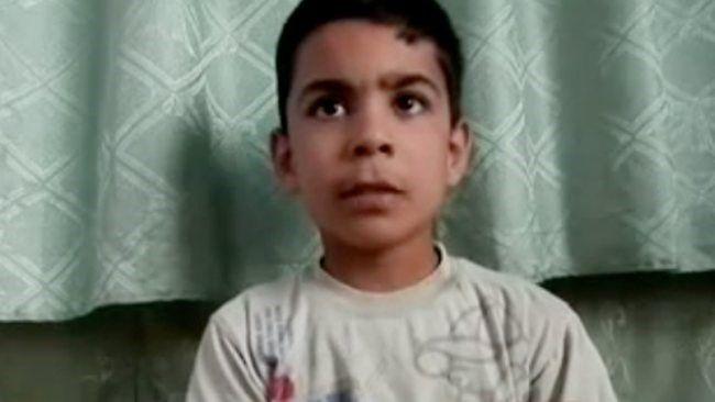 Le jeune Ali al Sayed, principal témoin du « massacre », et unique « preuve » complémentaire de la vidéo de la culpabilité du « régime syrien » dans le massacre de Houla, avec celui de la jeune Noura