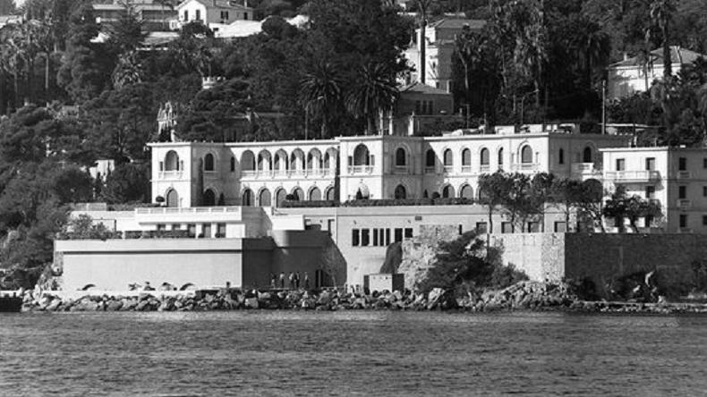 La Villa Aurore, résidence estivale du roi Salman (Capture Le Monde)
