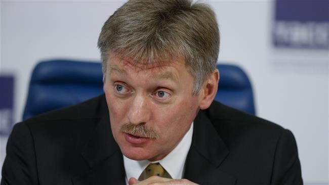 Le porte-parole du Kremlin,  Dmitry Peskov (Photo by AP)