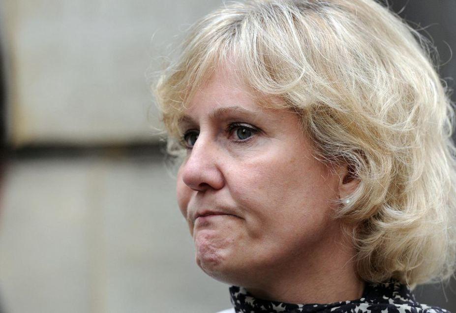 Nadine Morano, la député européenne Française qui affirme «française de race blanche», en mai 2014. Photo Stéphane de Sakutin. AFP