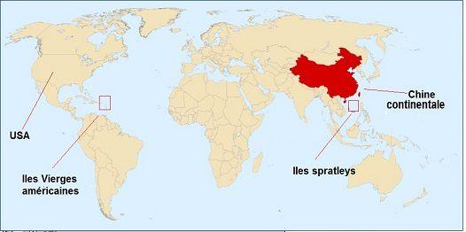 Navire de guerre US au large de la Chine. Pékin convoque l'ambassadeur des Etats-Unis au sujet de la patrouille d'un navire américain (Xinhua)