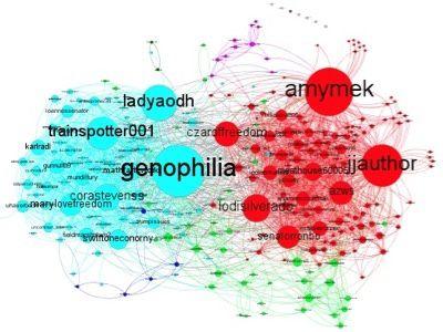 La carte complète des tweets retweetés #ArrestMerkel