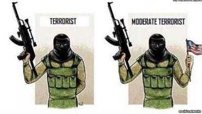 Seuls les jihadistes ayant fait allégeance à Washington sont considérés comme « modérés ».