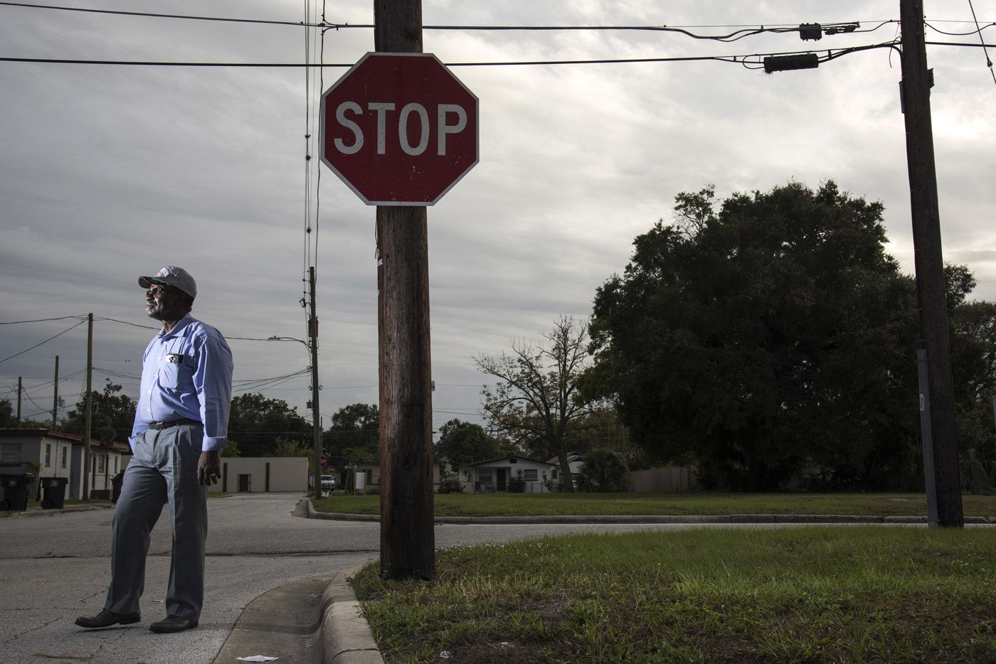 Eddie Walker, 65, is now the pastor of a small storefront church in Orlando, Fla. Photo: Melissa Lyttle for The Intercept