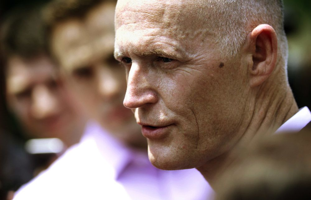 Le Gouverneur Rick Scott, Républicain-Floride. Photo : Alex Wong/Getty Images