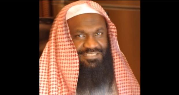 Photo d'archive du haut dignitaire religieux saoudien, le cheikh Adel al-Kalbani (capture d'écran YouTube)
