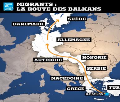 L'Union européenne dans la tourmente. L'espace Schengen en voie d'éclatement. Explosion de la crise des réfugiés en Europe (Mondialisation.ca)