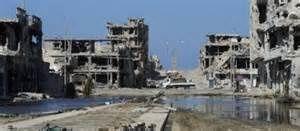 Syrte détruite par les Rafale français en 2011