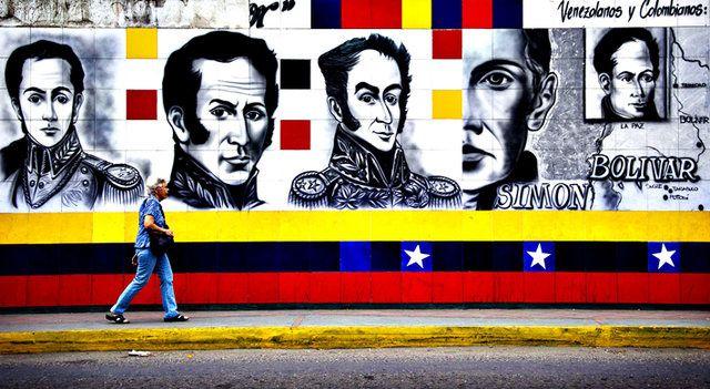 Bolivar Boulevard, Venezuela - Luis Robayo/AFP