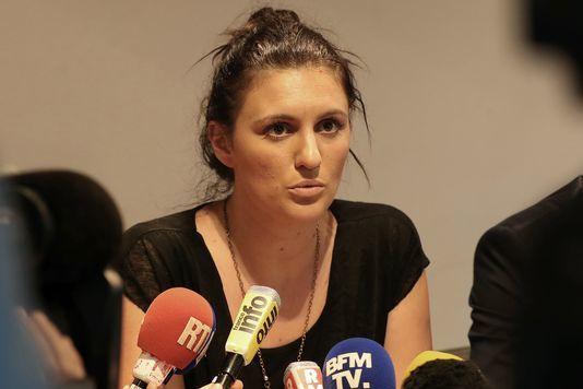 Sandra Bertin, le 24 juillet, à Nice. VALERY HACHE/AFP