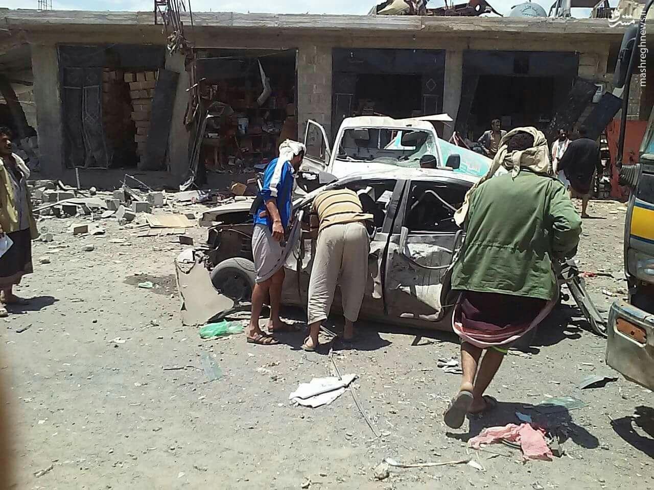 La Coalition reconnaît avoir frappé une cérémonie de deuil à Sana  (Voltaire.net)