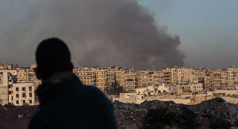 De l'ONG humanitaire au Conseil de sécurité, la campagne « crimes de guerre à Alep-Est ».  (Mondialisation.ca)