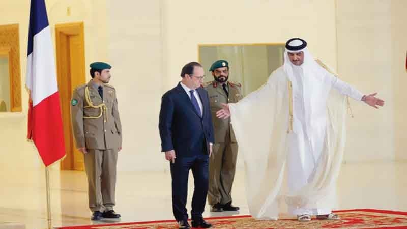 Relations troubles France-Qatar (Pars Today)