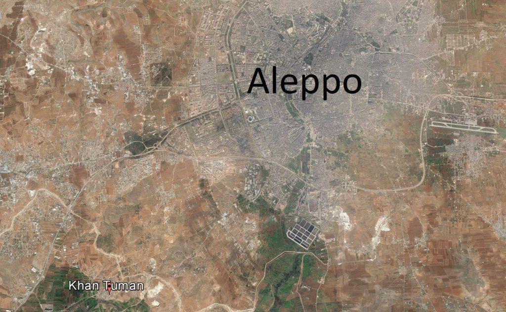 L'armée syrienne dit avoir repris un quartier au sud-ouest d'Alep (Reuters)
