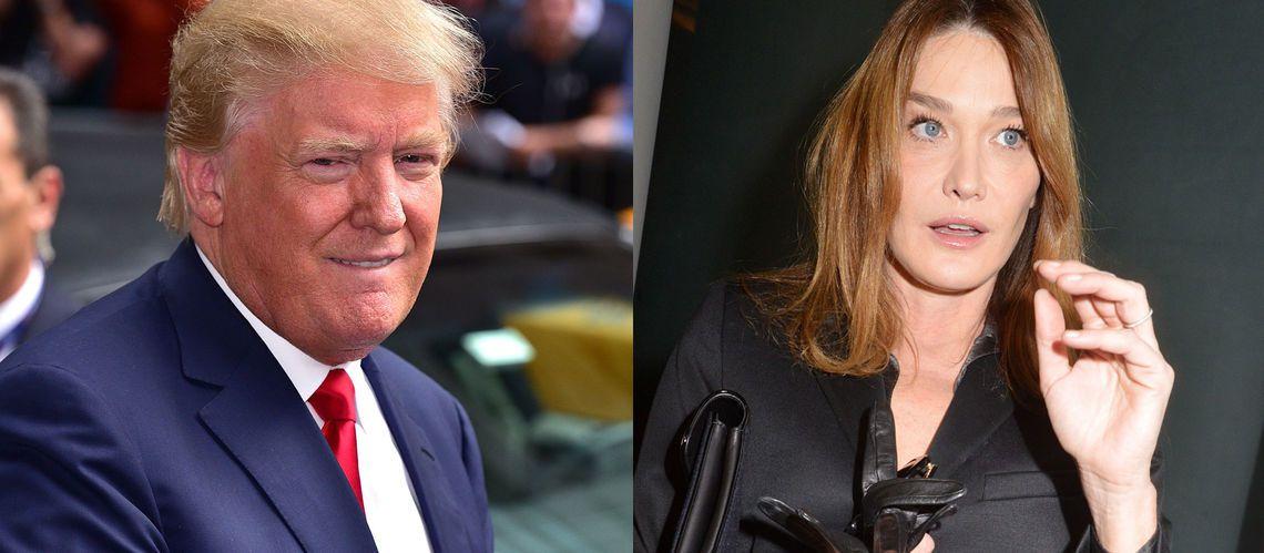 Donald Trump et Carla Bruni ont ils eu une liaison secrète ? (Vidéo)