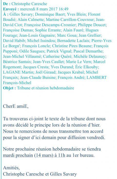 Le texte de ralliement de l'aile droite du PS à Macron (Le Figaro)