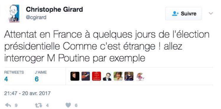 [Vidéos] En plein débat présidentiel, un policier tué et un autre blessé par des coups de feu sur les Champs-Elysées à Paris. L'EI revendique l'attaque
