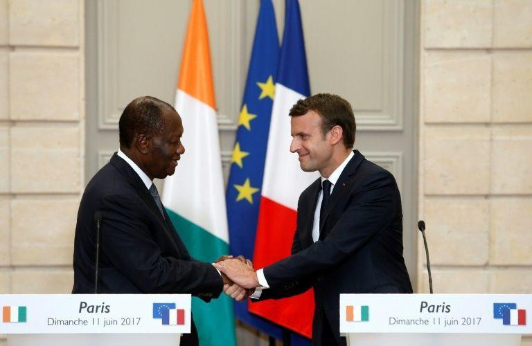 Le chef de guerre Macron renforce la collaboration militaire avec le président françafricain Ouattara au nom de la &quot&#x3B;bataille contre le terrorisme&quot&#x3B;