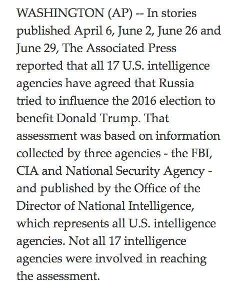 Le New York Times et l'Associated Press retirent leurs allégations selon lesquelles 17 agences de renseignement US ont reconnu que la Russie avait piraté les élections (Mint Press News)
