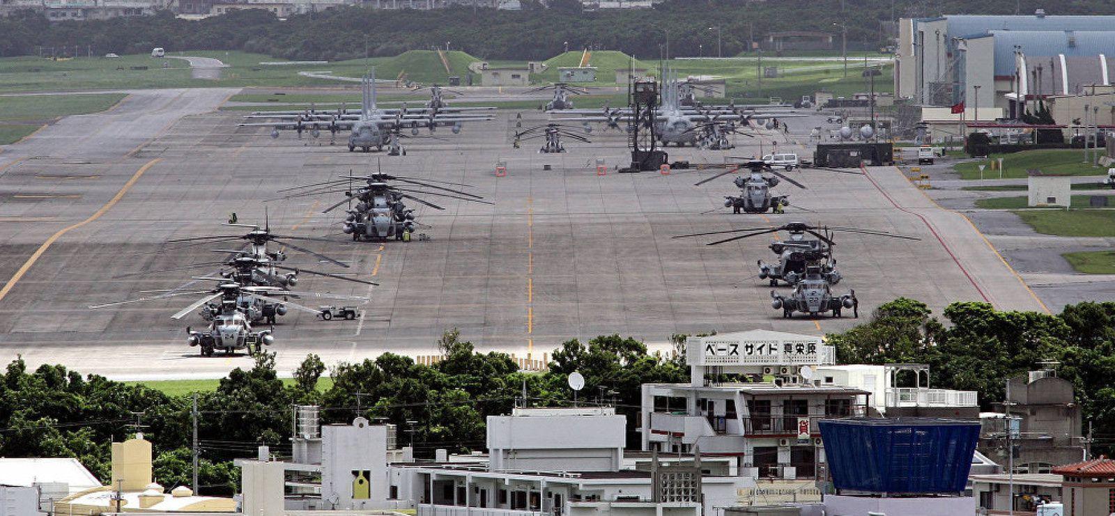 Transfert d'une base aérienne US: Okinawa porte à nouveau plainte contre Tokyo (Sputniknews)