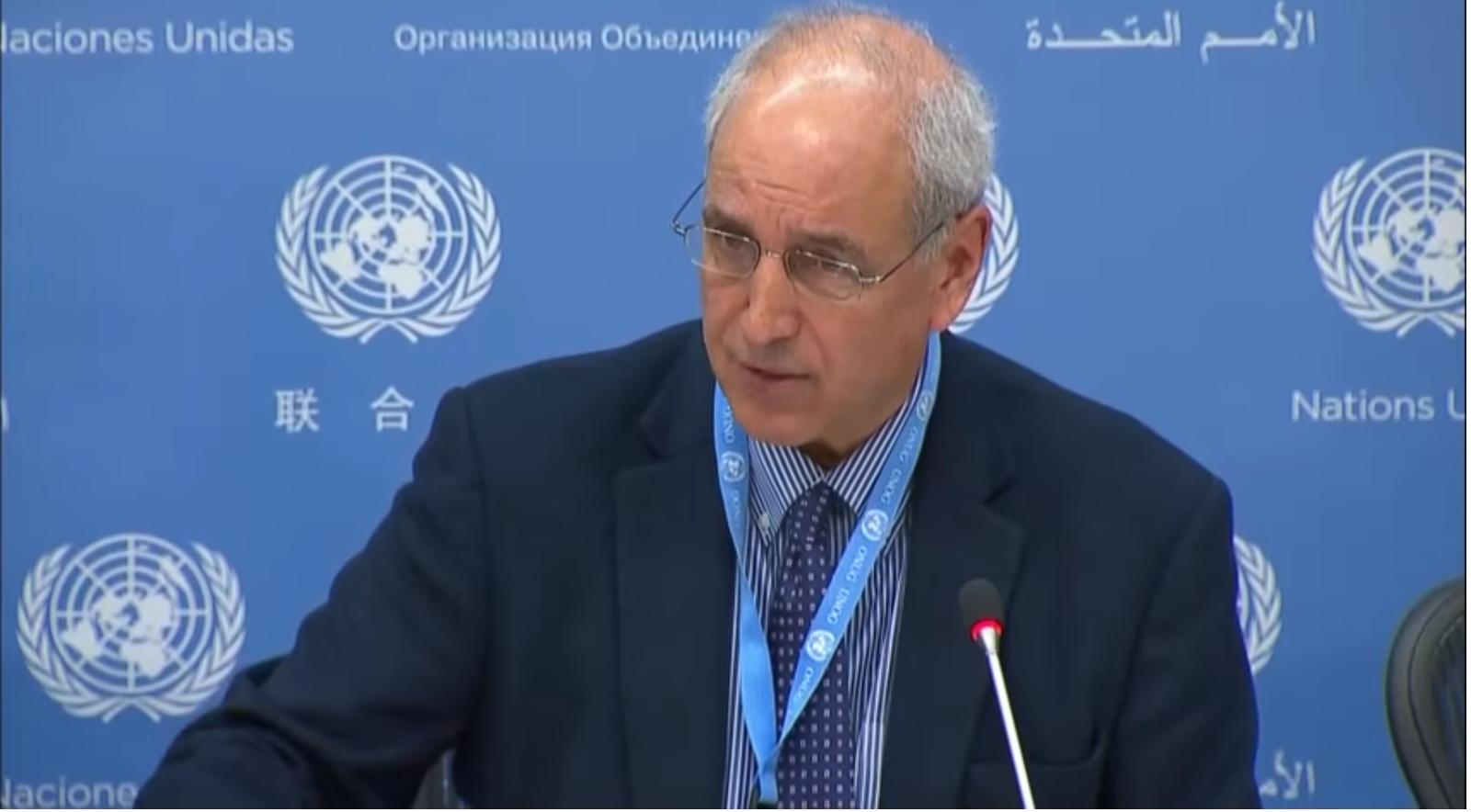 """[Vidéo] Le rapporteur de l'ONU demande instamment des sanctions contre Israël pour avoir """"renvoyé les Palestiniens à l'âge des ténèbres"""" (Mondoweiss)"""