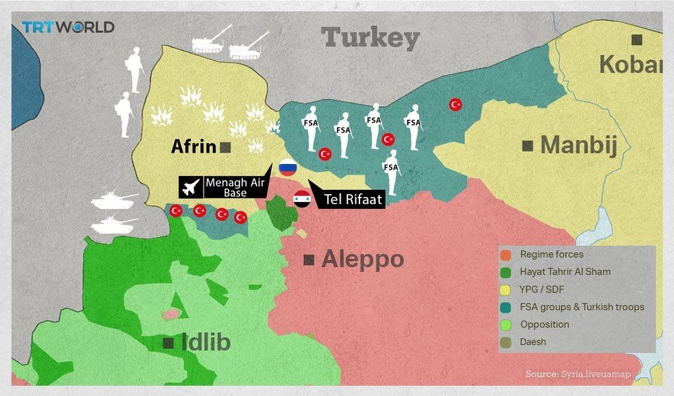 position iran conflit syrien
