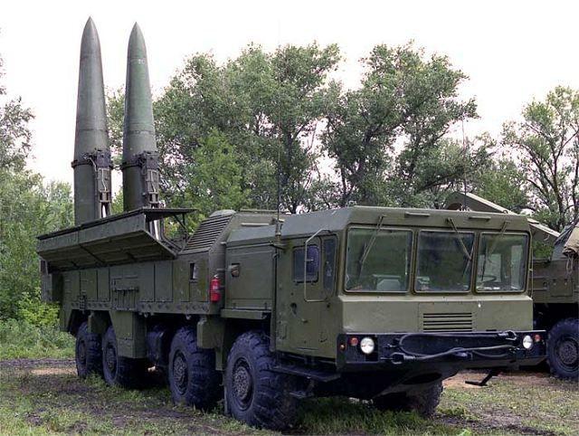 Vaste déploiement de missiles Russes aux portes de l'Europe (RIA)
