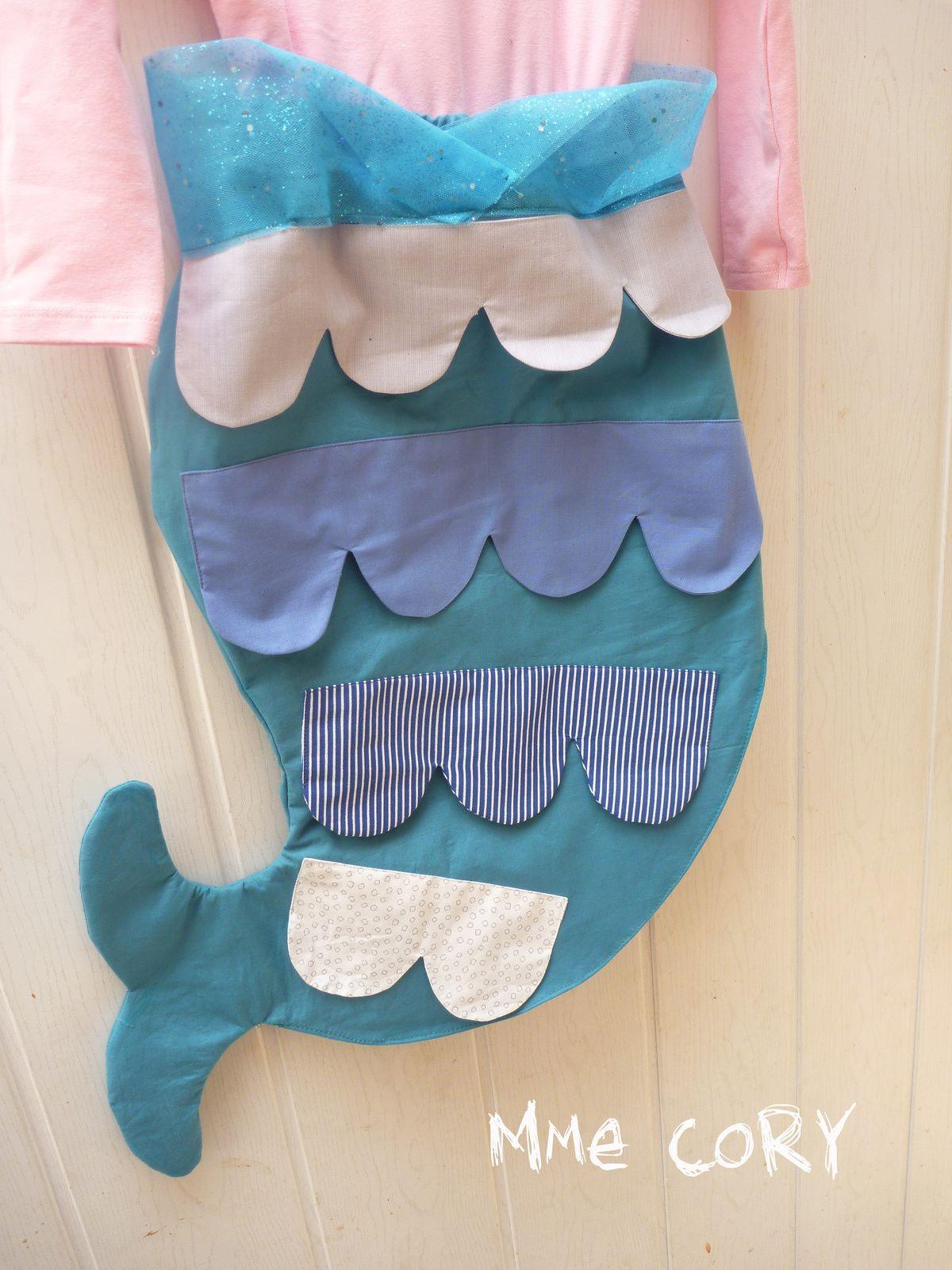 La Belette qui voulait devenir Sirène: DiY d'un costume!!!!!!