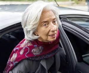 Lagarde , coupable d'une négligence à 400 millions d'euros mais très innocente ...