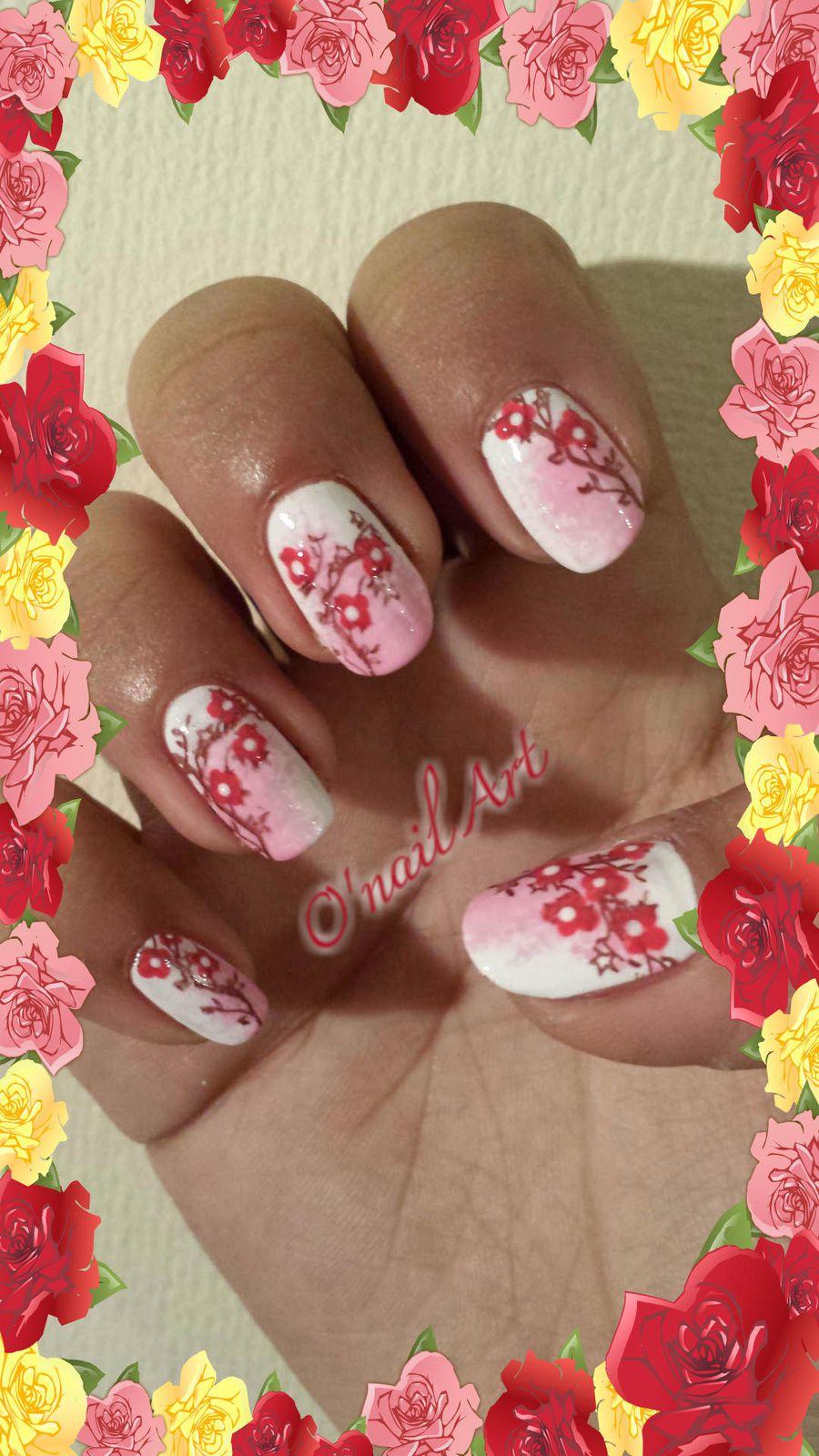 Arbres fleuris... ambiance japonaise