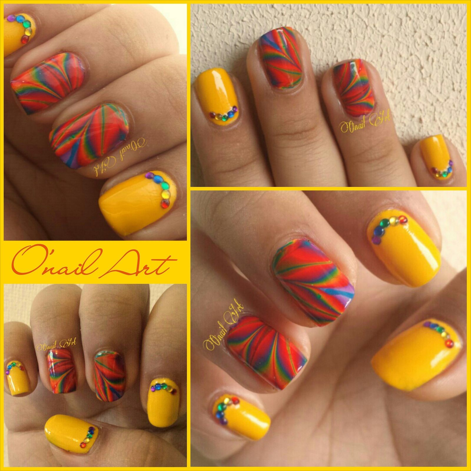 Watermarble 6 couleurs